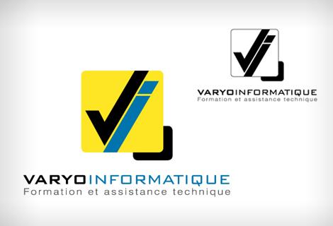 Varyo Informatique - Création du logo de Varyo Informatique à Toulon