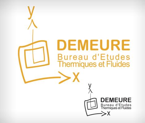 B.E.T. Demeure - Création du logo B.E.T. Demeure à Draguignan