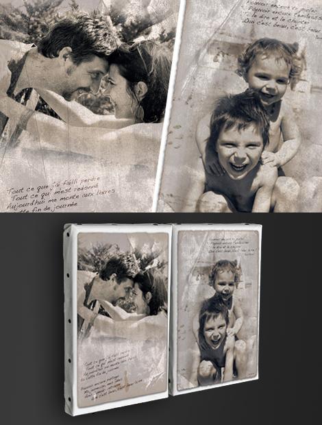 Photos sur toile - Travail graphique et personnalisé sur photos. Impression sur toile.