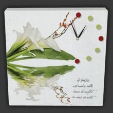 Horloge sur toile