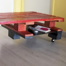 Tables en palettes